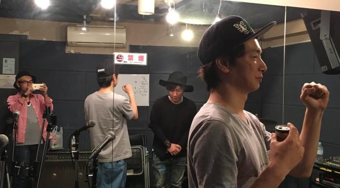 スタジオ練習〜♪