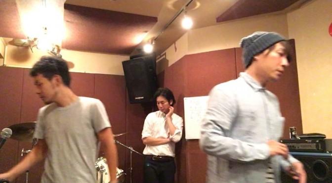 スタジオ練習♪
